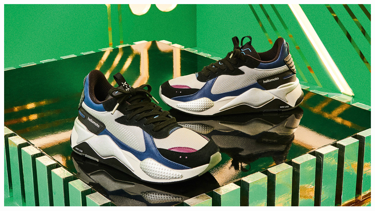PUMA x Motorola Debut New RS-X Tech Collab - WearTesters