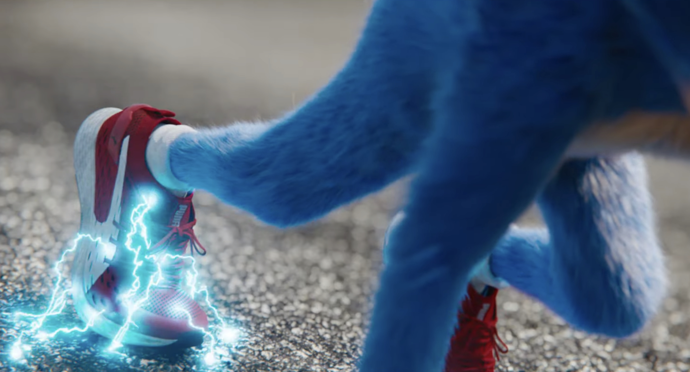 Sonic The Hedgehog Dons The Puma Speed 500 In Debut Trailer Weartesters