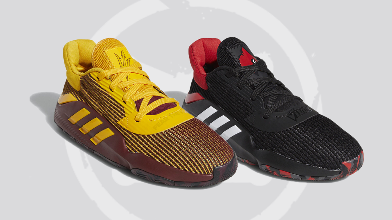 Two College Colorways of the adidas Pro Bounce Low 2019 Are