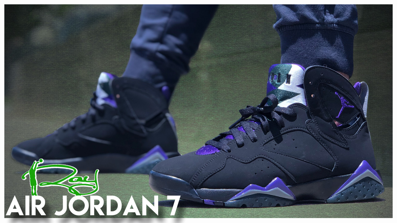 super popular b26e3 5cba4 Air Jordan 7 'Ray Allen' PE | Detailed Look and Review ...