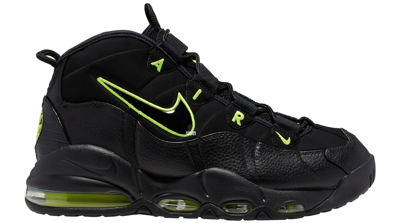 differently ed1c4 3d874 The Nike Air Max Uptempo 95 to Release in 'Black/Volt ...