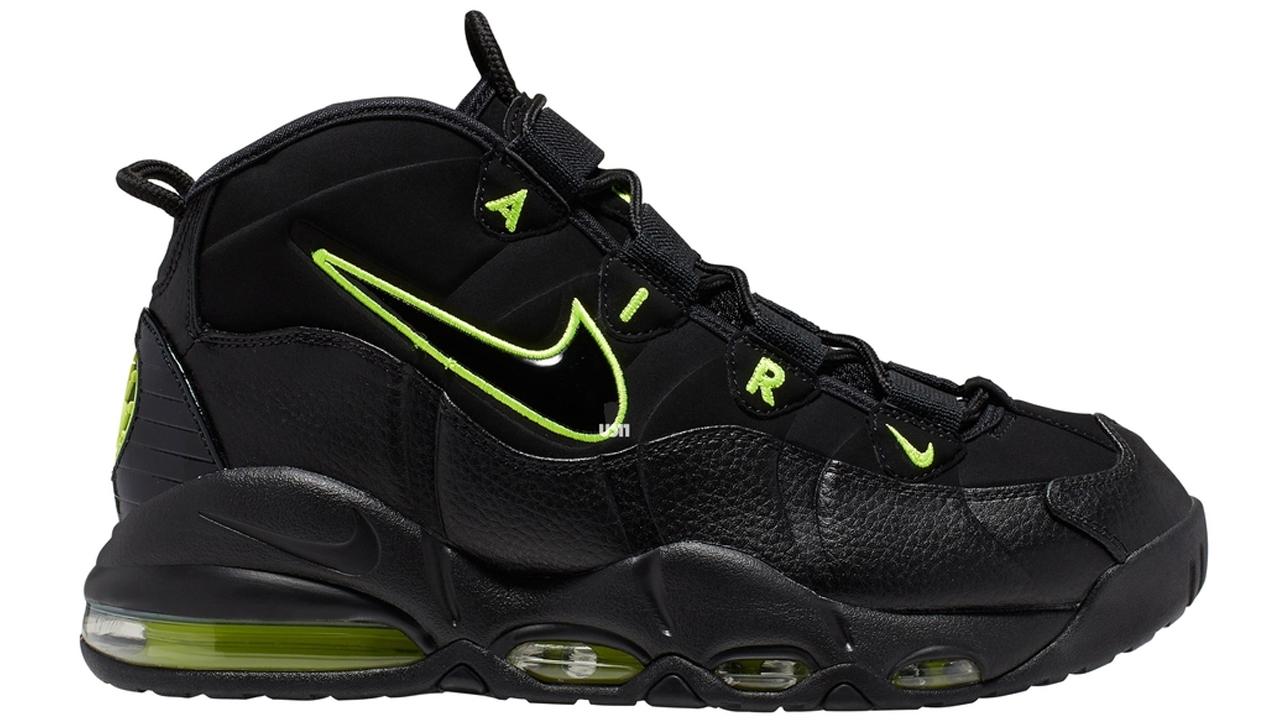 Nike Air Max Uptempo '95 black volt