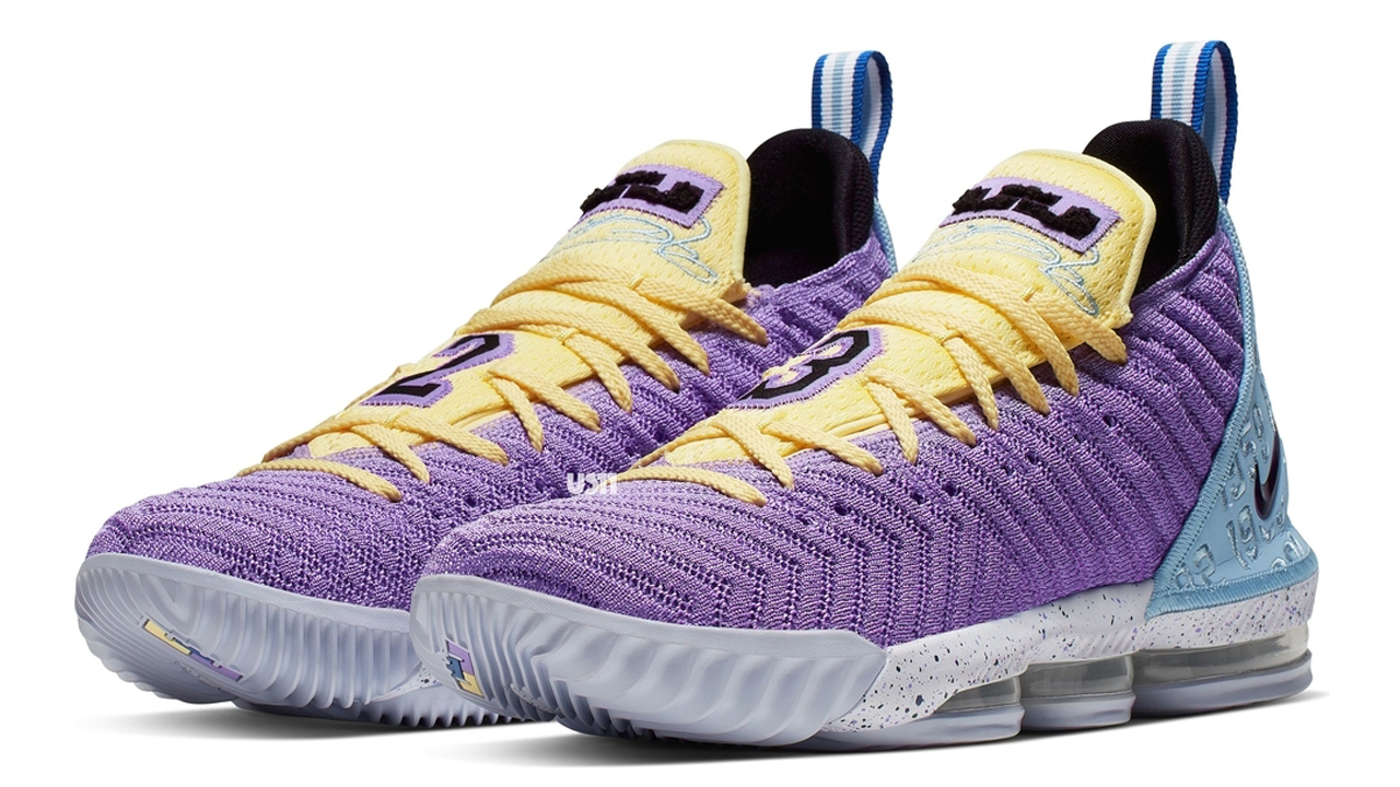 Another Nike LeBron 16 Pays Tribute to