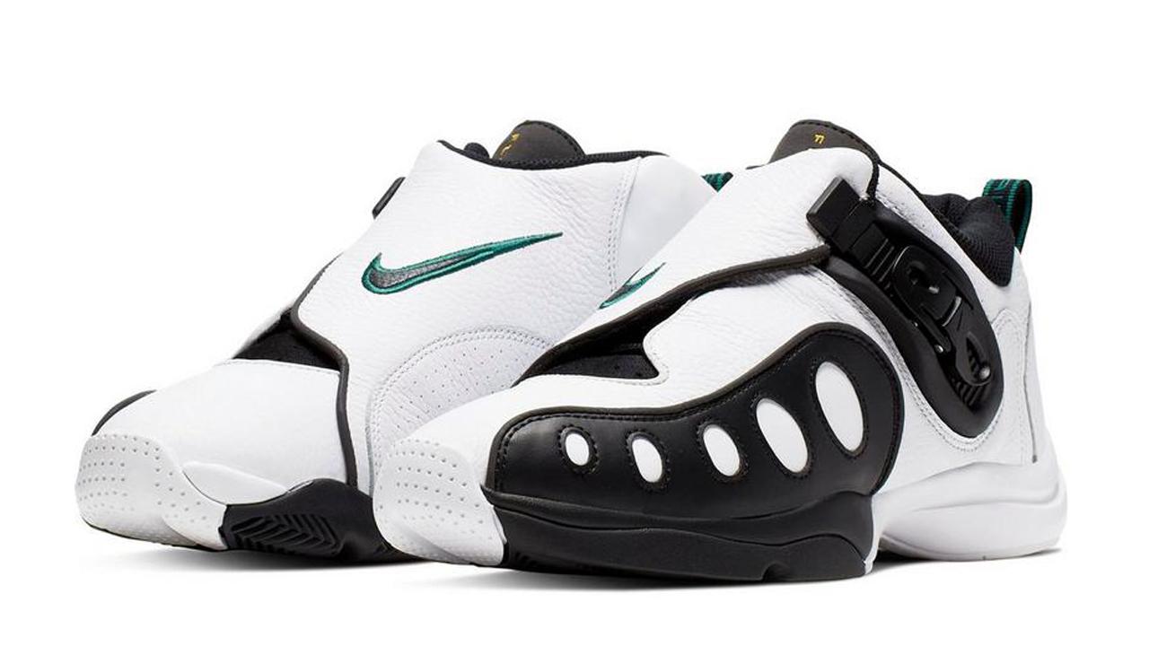 The Nike Zoom GP Retro in 'White/Black