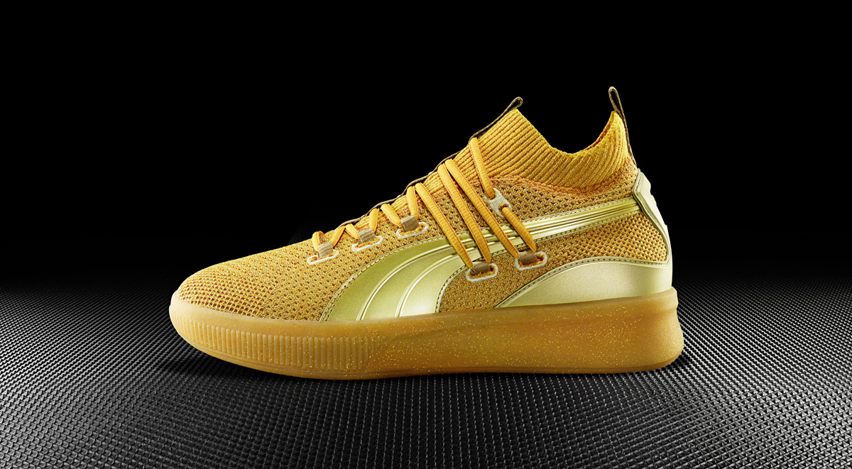 the latest 3c6fe 4073a The Puma Clyde Court 'Title Run' Celebrates the NBA Playoffs ...