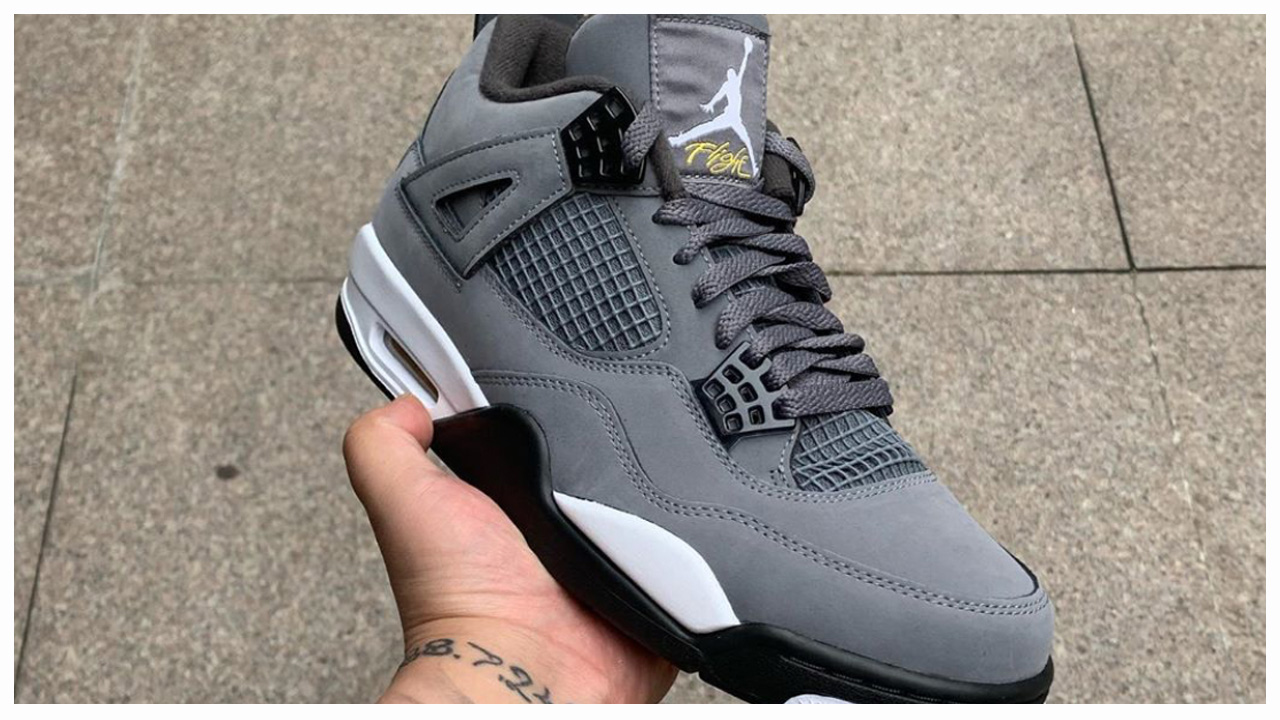 official photos 924c0 c40b9 A Complete Look at the Upcoming Air Jordan 4 'Cool Grey ...