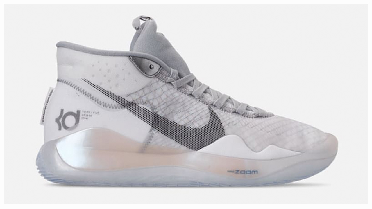 watch 33c04 36256 The Nike KD 12 is Now Available in 'Wolf Grey' - WearTesters