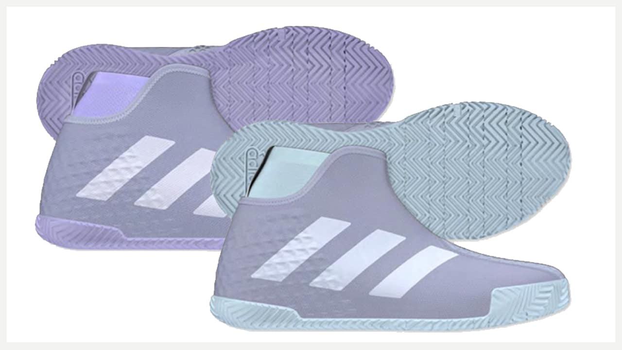 adidas barricade violet