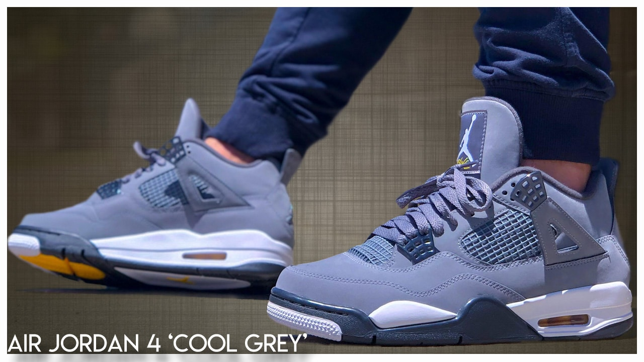 sports shoes 1ff98 098a5 Air Jordan 4 'Cool Grey' 2019 | Detailed Look and Review