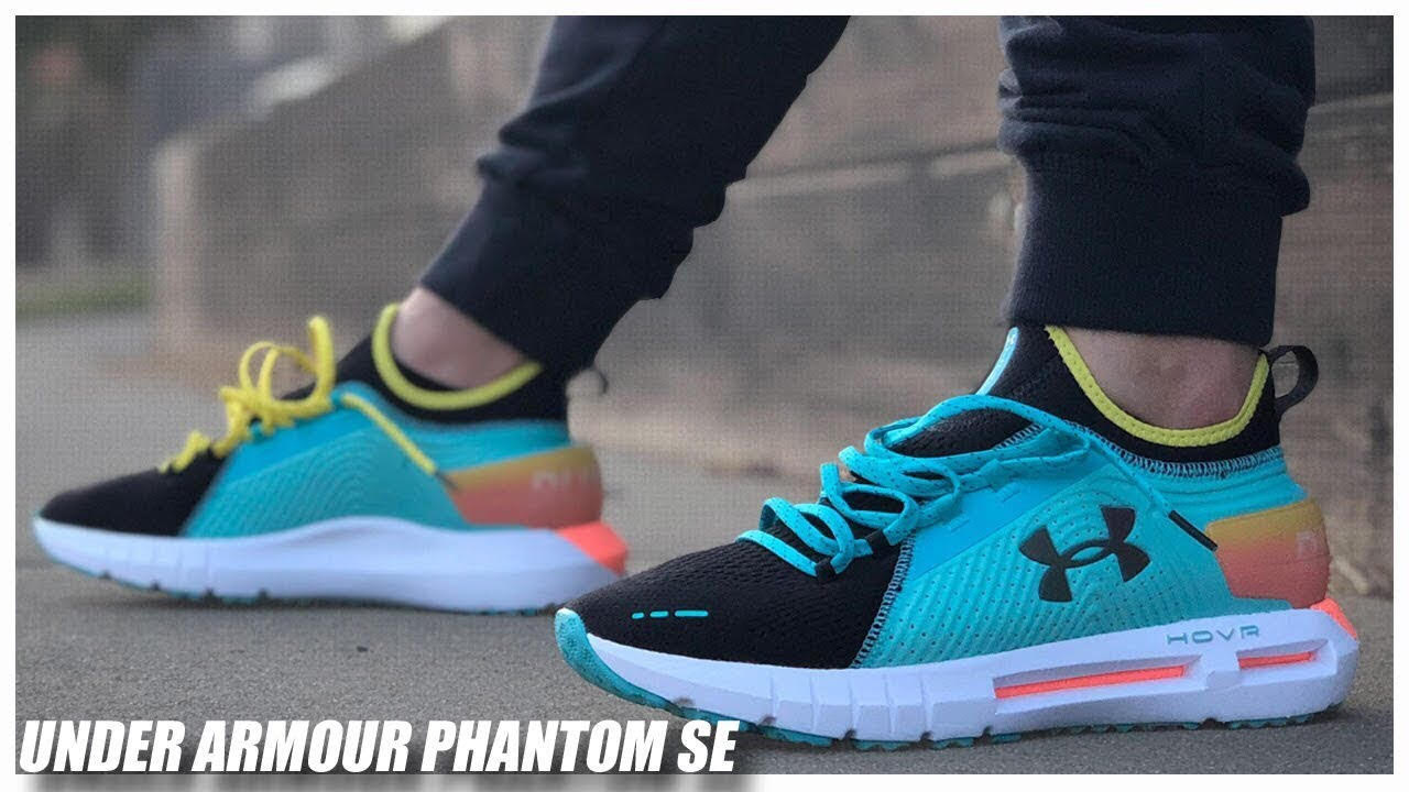 new product d9ec0 14b8e Under Armour HOVR Phantom SE | Detailed Look and Review