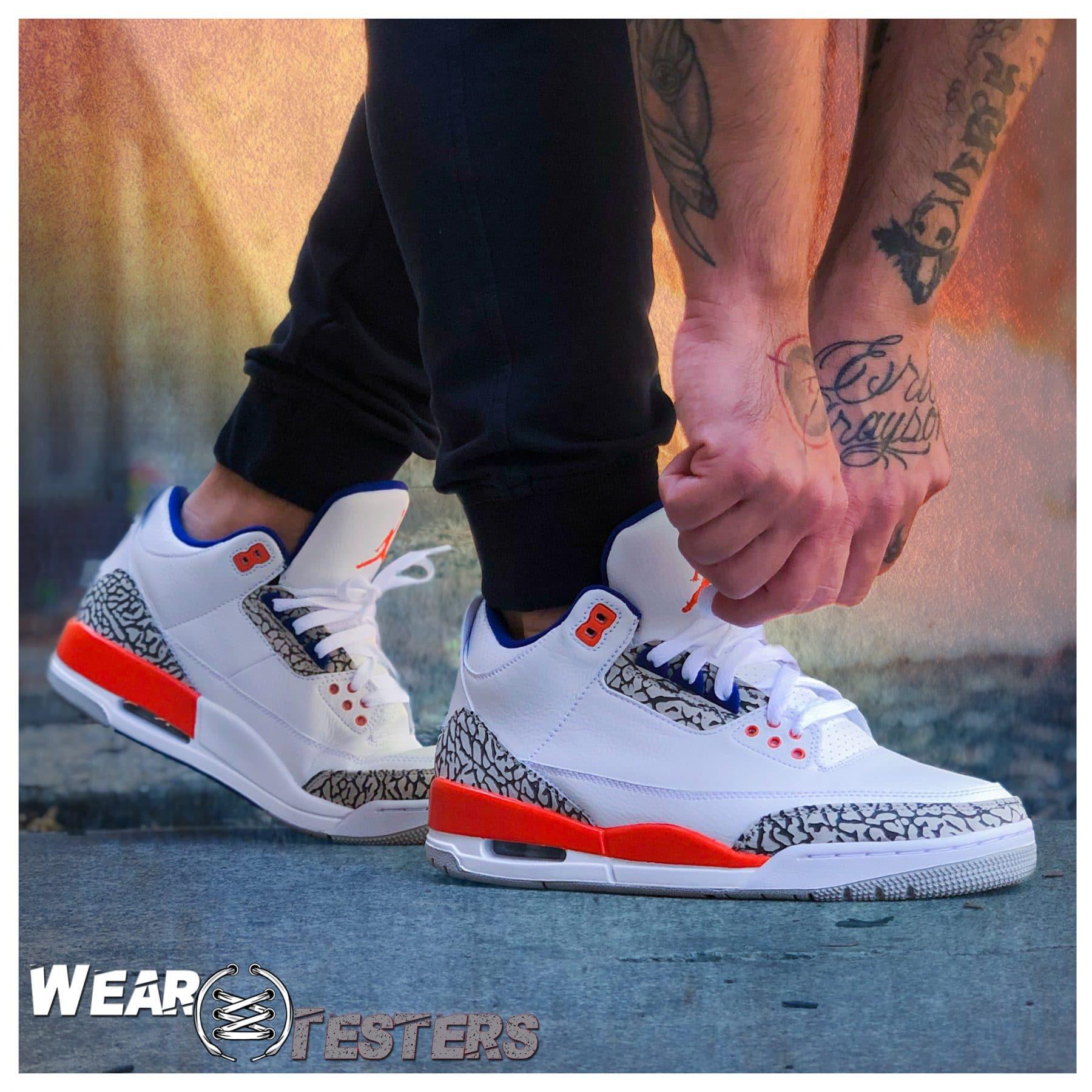 best service e5101 cd2cb Air-Jordan-3-Knicks-Review-On-Feet - WearTesters