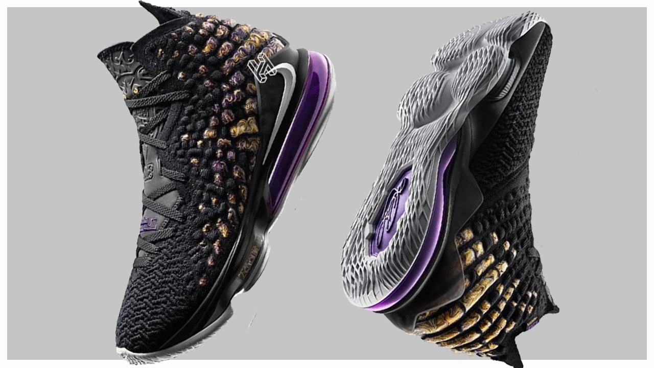 A First Look at the Nike LeBron 17 \u0027Lakers\u0027 , WearTesters